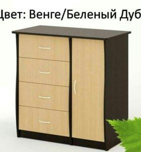 Комод КМ-07 Береза Мебель