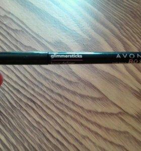 Карандаш для бровей Avon soft black B01