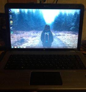 Ноутбук Hp dv6 на i7