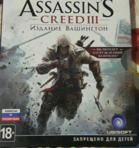 Диск на PS3 ассасин издание Вашингтон