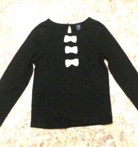 Трикотажная блузка для девочки фирмы Gap