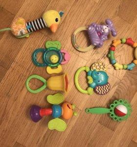 Погремушки/игрушки 0+