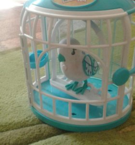 Продам игрушечную птицу