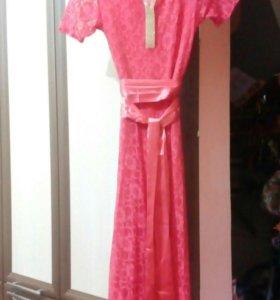 Платье в пол,42-44