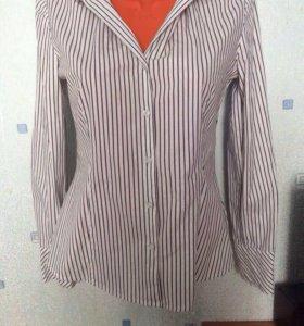 Рубашка в полоску 44-46