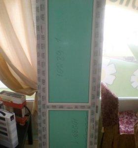 Дверь балконная.