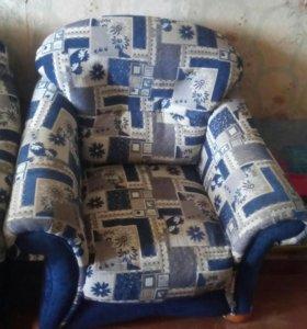 Диван и 2 кресла (комплект)