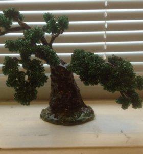 Дерево бисер