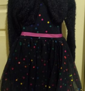 Нарядное платье 110-116