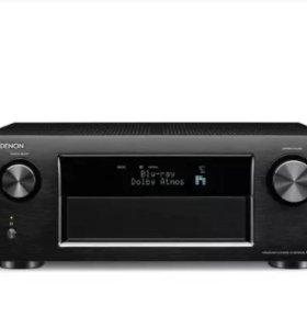 Новый ресивер DENON AVR-X4100W black