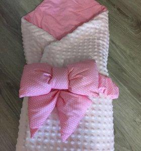 Конверт-одеяло на выписку👧