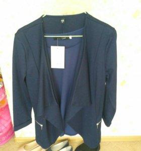 Пиджак и блузка.