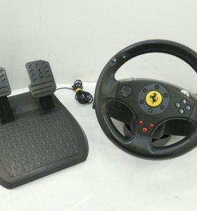 Руль с педалями Thrustmaster Ferrari GT 2-in-1