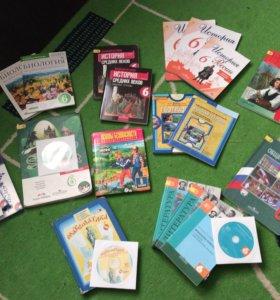 Учебники по школьной программе 6 класс