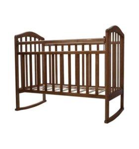 Детская кроватка-качалка Алита