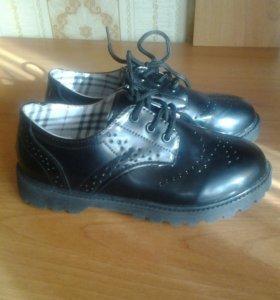Туфли на осень для мальчика НОВЫЕ