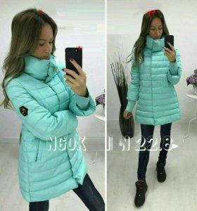 Новая теплая куртка пальто