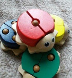 деревянные игрушки/ развивашки