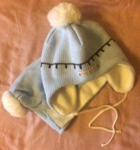 Комплект шапка+шарфик ( Польша )