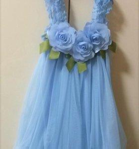 Нарядное платье, 116-122 см