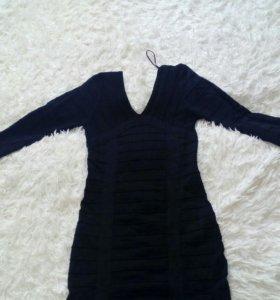 Бандажное платье.