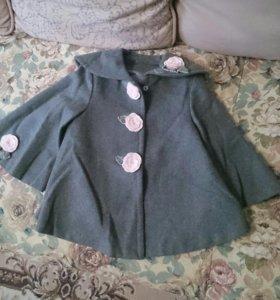 Пальто весна-осень для девочки