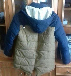 Куртка парка подростковая