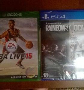 Новые Запечатанные Диски для PS4 и XBOX ONE