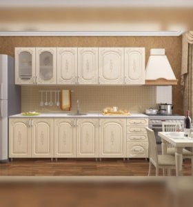 """Кухонный гарнитур """"Боско"""" 2.5м от """"тхм-кавказ"""""""