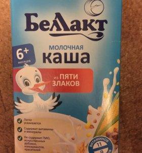 Каша Беллакт 5 злаков молочная
