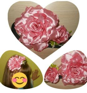 Повязка - роза
