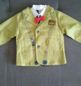 Комплект детский (пиджак + рубашка)