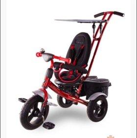 Детский трехколёсный велосипед.