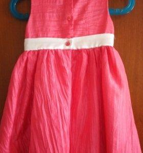 Нарядное платье на рост 86см