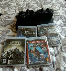 PS3 +7 игры 10.000