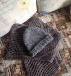 Шапка с шарфом (комплект)
