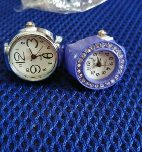 Часы кольца