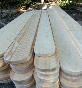 Забор деревянный,доска заборная