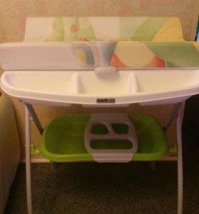 Пеленальный столик - ванночка CAM (складной)