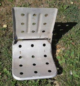 Алюминиевое кресло