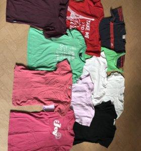 Пакет спортивных футболок на рост до 160 см