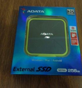 Внешний SSD ADATA SD700 256 ГБ