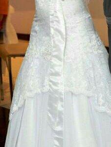 Свадебное платье+меховая накидка+митенки