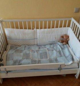 Кроватка детская икеа