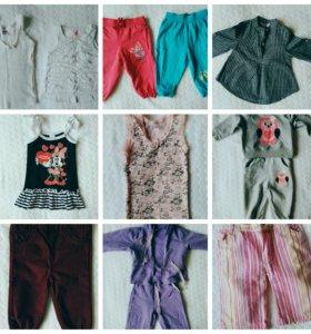 Детская одежда размер 74-80см