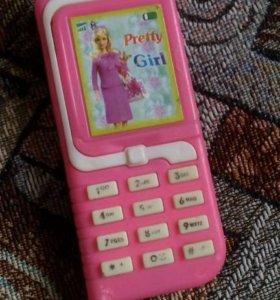 Детский игрушечный телефон:-)