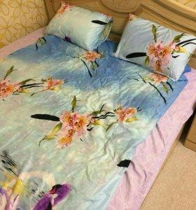 Продам постельное белье новое+одеяло.