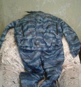 Зимний костюм комуфляжный