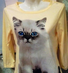 Кофточка с котиком