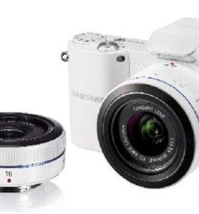 Беззеркалка Samsung NX1000+ два объектива в идеале